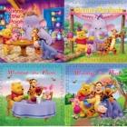 .Bộ gấu Pooh 60x60 (4 tấm) C30006