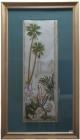 .Tranh thêu cây dừa(67*115) T001013