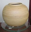 . Bình tròn vàng V000027