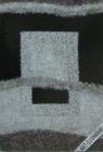 . Thảm mỹ thuật xù Art-S106silver