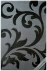 . Thảm mỹ thuật art-l451siver-black
