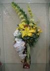 Bình Lily, hoa đuôi chồn vàng (G000102)hết hàng