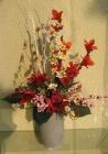 Bình hoa khô, cành xương trắng D000022