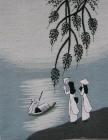 ,Cô gái Việt Nam (25*21) T001048-4