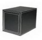 Hộp đựng dĩa CD đen(17,5xH24,5 cm) _QT01001