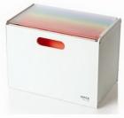 Hộp cabinet đựng hồ sơ VP  trắng_QT01058