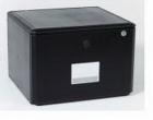 Hộp cabinet đựng hồ sơ VP  có khóa đen_QT01055