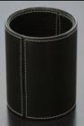 Hộp tròn đựng viết đen(12xH9.5cm) _QT101017