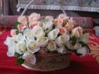 Hoa hồng phấn F000504 (hết hàng)
