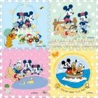 Bộ Mickey 40x40 (bộ 4 tấm) C30005
