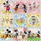 Bộ Mickey 30x30 (9 tấm) C30003 (Hết hàng)