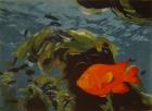 Tranh Cá vàng T002008 (hết hàng)