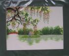 ;Tranh thêu Hồ Gươm(30*25) T001049