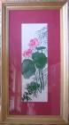 .Tranh thêu hoa sen(67*115) T001022