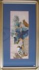 .Tranh thêu hoa sen cò vạc(67*115) T002005