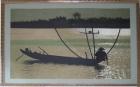;Tranh thêu thuyền trăng(1.2m*1.6m) T002007