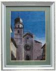 '.Tranh thêu nhà thờ cổ (66x53cm)T002010.3