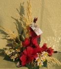 Đĩa hoa khô hình ngôi sao D000071